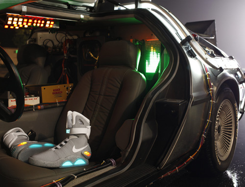 Nike Mag 2011 - DeLorean